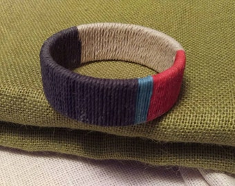 Multi-colored Hemp Bangle