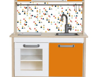 Ikea kinderküche  Toy kitchen: Pimp your Ikea DUKTIG kitchen with the sticker