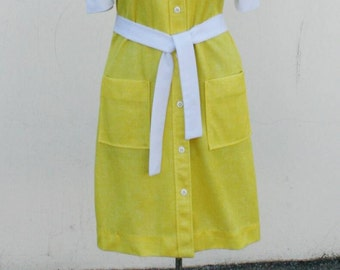 Vintage 1970s Day Dress by Crest
