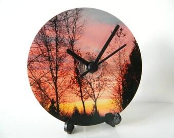 CD Clock -Photography