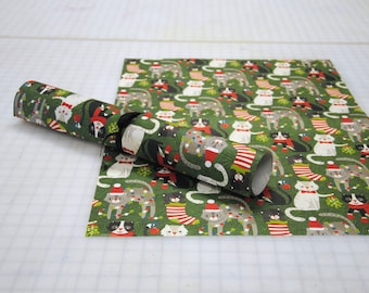Christmas Cat Paper by Paper Source