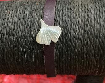 Gingko leaf bracelet