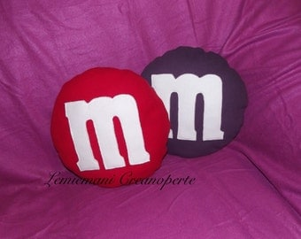 Pillows M & M's colors Christmas gift idea