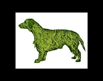 Retriever Topiary Print