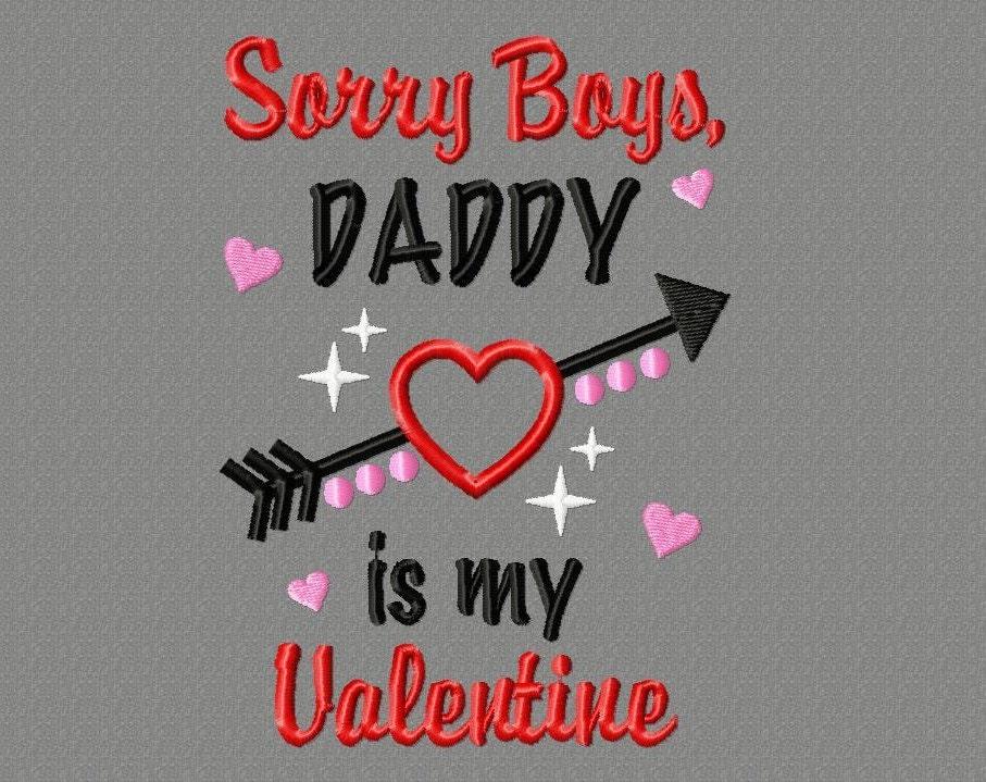 Daddy S Mini Valentine Design