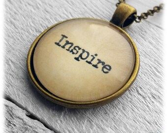 Inspire Pendant and Necklace