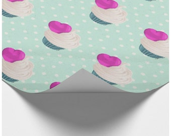 Hey, Cupcake | Wrapping Paper