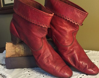 Rare Edwardian Ankle Boots