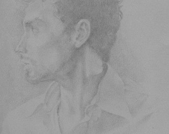 Custom Graphite Portrait From Your Picture