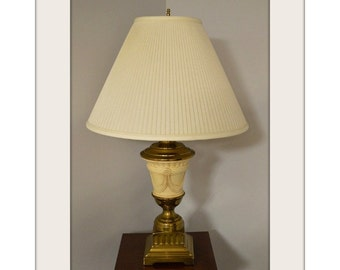 Traditional Style Solid Brass Urn Lamp
