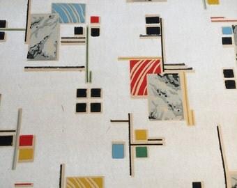Vintage wallpaper Art Deco