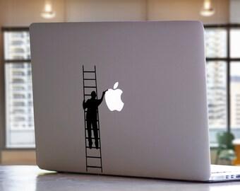 Painter Painting Apple MacBook Laptop Vinyl Decal Sticker