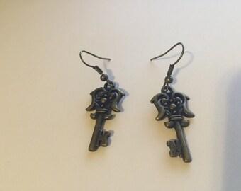 Fancy Key Earrings