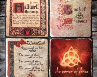 Charmed Power of Three Coaster or Decor Accent
