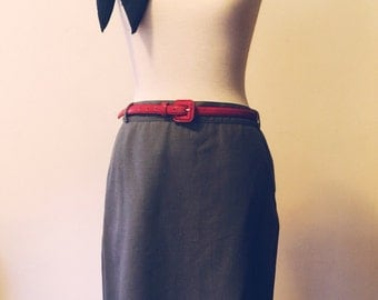 Classic Retro Style Pencil Skirt