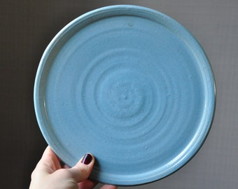 Very Blue Plate