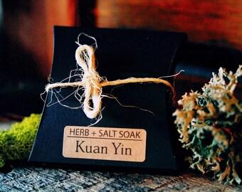 Herb + Salt Soak