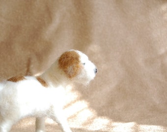 Needle Felted Terrier Dog