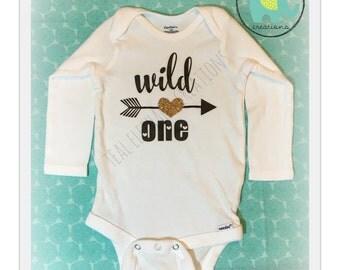 wild one first birthday onesie®
