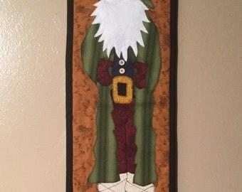 Father Christmas wall hanging