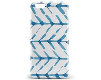1345 // Blue Watercolor Geometric