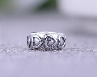 sterling silver charm for bracelets fits authentic pandora and european bracelets