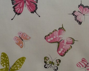 108-inch wide French Butterfly Drapery and Upholstery Fabric by Thevenon - Paris, France