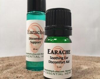 Earache Essential Oil, Ear Pain, Inflammation