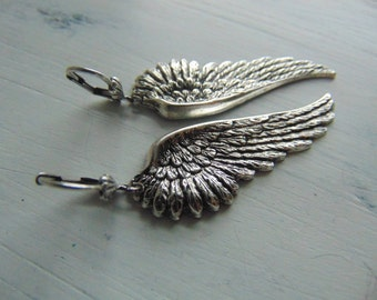 20% Off any order Sterling silver Angel Wing Earrings