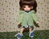 "PukiFee Aquarius Lati Yellow 15-16 сm BJD Set ""Spring mood"" for dolls of Tiny format"