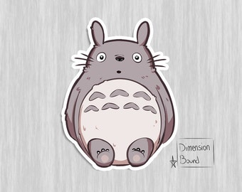 My Neighbor Totoro sticker, anime notebook sticker laptop stickers