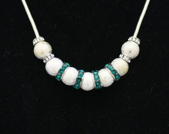 Add-a-Bead Necklace Featuring Silver, Silver & Gold, or Gold Tone Beads