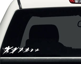 D814 Super Hero Family Vehicle Decal Sticker for Car/Truck Vehicle Window