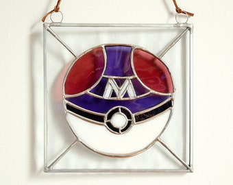 SALE 15% Stained Glass Master Ball (Original 55.00)