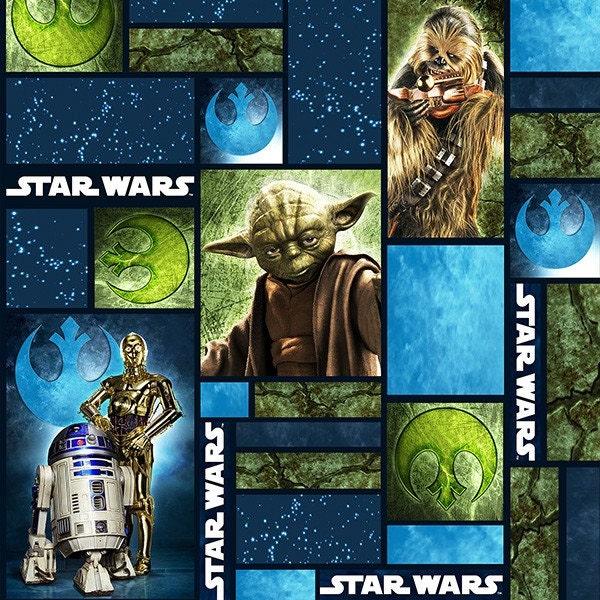 Star wars characters fabric 73010101 star wars immortals 1 for Star wars fabric