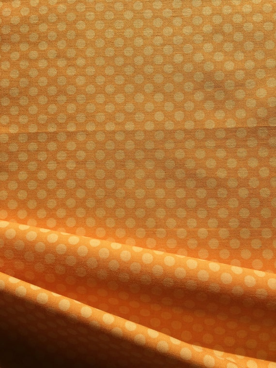 Riley Blake Designs Stitch Studios Calliope Orange 1/4-1/2 yard