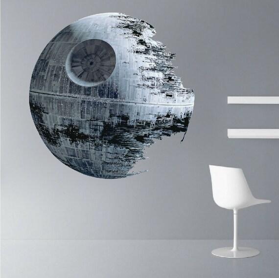 Death Star Wall Decal Art Decor Star Wars Star Wars Decal