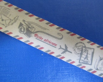 "3/4"" Cotton Super Ribbon Collection des1b"