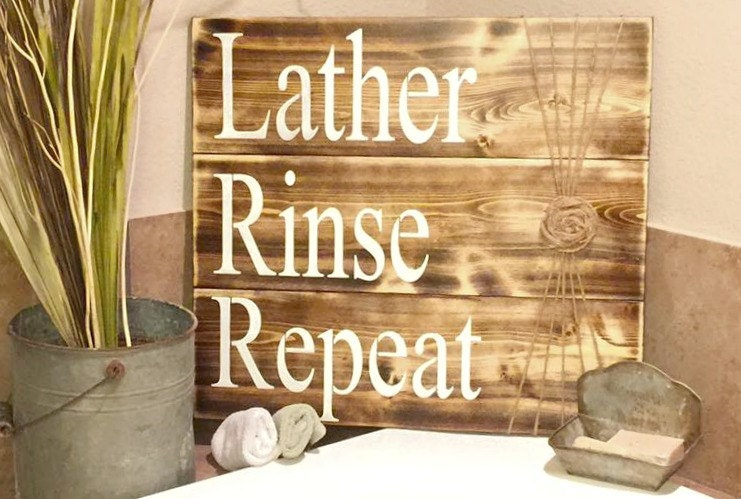 bathroom sign bathroom decor rustic bathroom sign