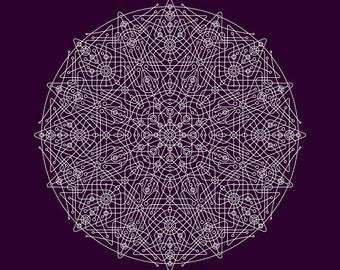 Mandala Print - Deconstruction NRG