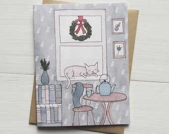 Christmas Card - Home for the Holidays - Greeting Card