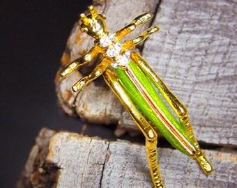 Grasshopper Brooch #5437