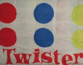 Twister Full sized comforter