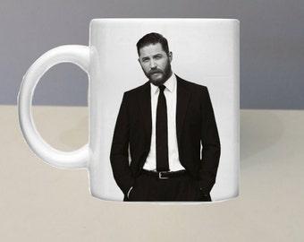 Tom Hardy Coffee Mug By GlazedImage - Great Gift - Film - Hunk - Man
