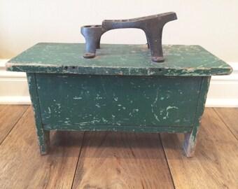 Shoe Shine Box Shoe Repair Wood Box