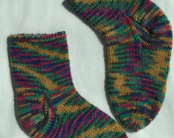 Colorful and very warm socks