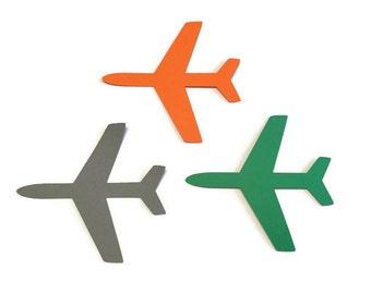 25 Airplane Tags, Die Cut Airplane, Airplane Theme Baby Shower, Airplane Theme Birthday Party, Airplane Party, DIY, Airplane decor