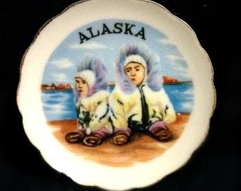 Alaska Mini Collectors Plate
