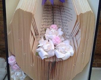 Wedding Folded Book Art