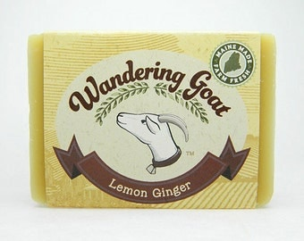 Goat Milk Soap - Lemon Ginger